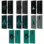 Assassinand039s Creed Valhalla Compositions Leather Book Case For Microsoft Phones
