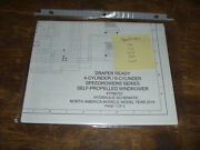 New Holland Speedrower 130 Draper Windrower Hydraulic Schematic Diagram Manual