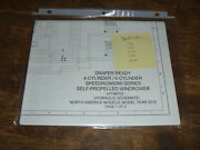 New Holland Speedrower 160 Draper Windrower Hydraulic Schematic Diagram Manual