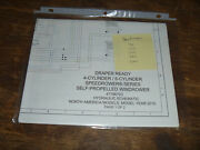 New Holland Speedrower 240 Draper Windrower Hydraulic Schematic Diagram Manual