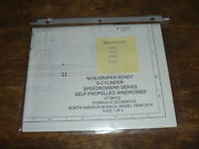 New Holland Speedrower 240 260 Windrower Non Hydraulic Schematic Diagram Manual