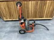 Used General 1/2x75' Electric Auto Feed Snake Compact, Lightweight Floor Vent