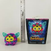 Furby Furblings Hasbro 2013 Pink And Blue Hearts Box Included Tested Working