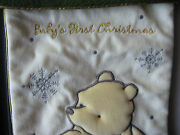 Collectible Disney Pooh Baby's First Christmas Stocking