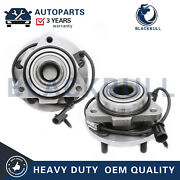 For Chevy Blazer Gmc Jimmy 2wd 5lug W/abs 513200 2pc Front Wheel Bearing And Hub