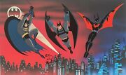 Warner Brothers Batman And Beyond Le Proof Cel Signed By Timm, Dini And Burnett