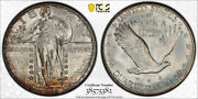 1928 D 25c Standing Liberty Quarter Pcgs Ms 66 Uncirculated Nice