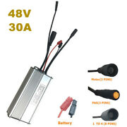 48v 30a Kt Brushless Motor Controller For 750w 1000w Electric Bicycle Scooter