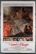Lord Of The Rings The 1978 29242 Ralph Bakshi Movie Poster Art By Tom Jun