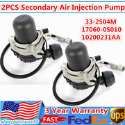 2x For 07-13 Toyota Tundra Sequoia Lexus Lx570 Secondary Air Injection Smog Pump