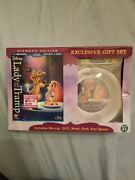 Lady And The Tramp Diamond Edition Blu-ray Dvd Exclusive Gift Set Bowl