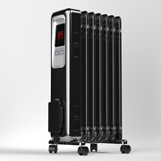 Pelonis Radiant Portable Space Heater 1500w Digital Electric Oil Filled Indoor