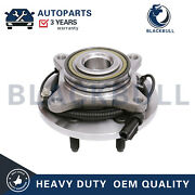 For 2009 2010 Ford F-150 2wd W/ Abs 6 Bolt Front Wheel Bearing And Hub Assembly