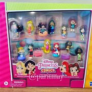 Disney Princess Comics Minis Comfy Squad Collection 12 Figures 2-day Shipping