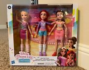 Disney Princess Comfy Squad Sugar Style Friends Doll 3-pack 2-day Shipping