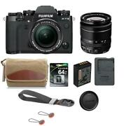 Fujifilm X-t3 Mirrorless Camera With Xf 18-55mm F/2.8-4 Lens Black W/acc Bundle