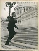 1967 Press Photo Sen Charles H Percy From Illinois At Capital Bldg - Rsh48673