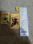 Parker Brothers Clue 2002 The Simpsons Replacement Cards Pad Dice Case File