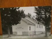 1957 Rppc Postcard Boulder Junction Wisconsin Wi Luthern Church