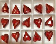Vintage ® Wild Heart Beads 5743 - 12mm - Crystal Red Magma V - 108 Pcs