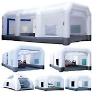 Gorillaspro Inflatable Paint Booth With Blower Upgrade Air Filter System 6 Sizes