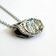 Solid Sterling Silver Turtle Shell Pendant Necklace Tortoise 119