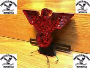 Custom Warbird Led Tail Light With License Plate Bracket For Harley, Chopper
