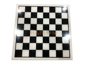30 Handmade White Marble Square Chess Board Game Table Top Beautiful Gift H027a
