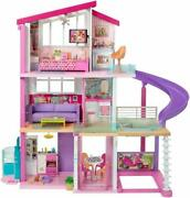 New Barbie Dreamhouse Dollhouse With Wheelchair Accessible Elevator Pool Slide