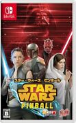 [switch][used]star Wars Pinball From Japan/rd