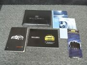 2007 Ford Mustang Saleen S281 Extreme Coupe Convertible Owner Manual Set 3v E Sc