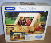 Breyer Horse Wood Stable For Traditional And Classic Horses 306 2011 Nib