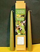Yankee Candle Bayberry Taper Candles 1 Pair Of 2 8 Holiday New Year Tapers