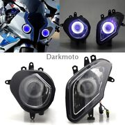 Motorcycle Assembly Headlight Headlamp Projector Light For Bmw S1000rr 09-14