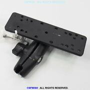 Ram Mount 6.25 X 2 Inch Plate With 1.0 Ball And Medium Arm No Base Mount