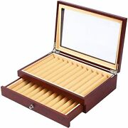 Pen Display Box Fountain Pen Case Holder Display Stand Collection Box Japan F/s