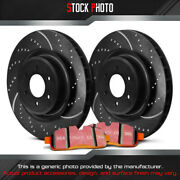 Ebc Brakes Stage 8 Super Truck Dimpled And Slotted Front Brake For 03-10 Silverado