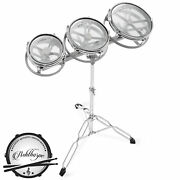 Roto Tom Drum Set With Stand - 6 8 10 Toms With Remo Heads