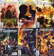 Uncharted 6 Issue Set 1 2 3 4 5 6 Comic 1st Print Playstation Videogame Based