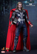 1/6 Hot Toys Mms175 Marvel The Avengers Thor Odinson Masterpiece Action Figure