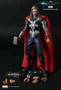 Dhl 1/6 Hot Toys Mms175 Marvel The Avengers Thor Odinson Action Figure