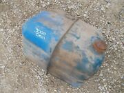 Ford 3000 Tractor Original Gas Tank W/ Hard To Find Vented Original Cap And Valve
