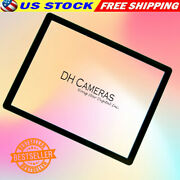 For Camera Canon Powershot G10 Lcd Window Outer Glass Screen Display Tape Parts