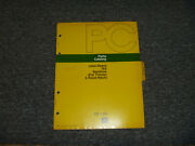 Jd John Deere 165 Backhoe For Tractor 3 Point Hitch Parts Catalog Manual Pc1341