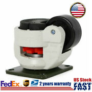 4 Pack Caster Leveling Machine Gd-80f Nylon Wheel Retractable Adjustable Height