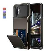 For Samsung Galaxy S10 Plus/s9/note 10 Case Cover With Card Wallet Holder Slot