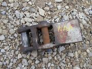 Ford Naa Tractor Original 3pt Hitch Center Top Link Main Mounting Adjustable Brk