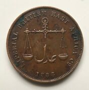 Imperial British East Africa Co, Mombasa 1888//ah 1306-c/m 1 Pice