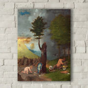 Lorenzo Lotto Allegory Of Virtue And Vice. Canvas Art Print