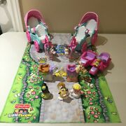Fisher Price Little People Disney Princess Coaches, Motorbike, Playmat And People